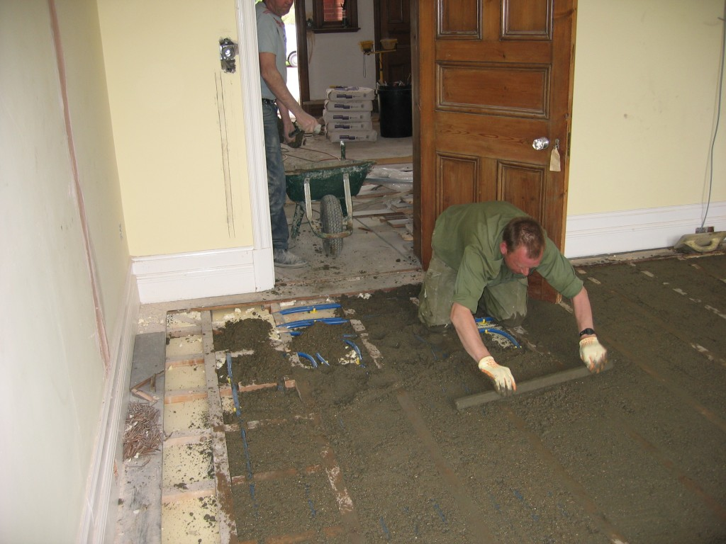 Diy Screed Bathroom Floor : Levelling screed onto floor saxonstar